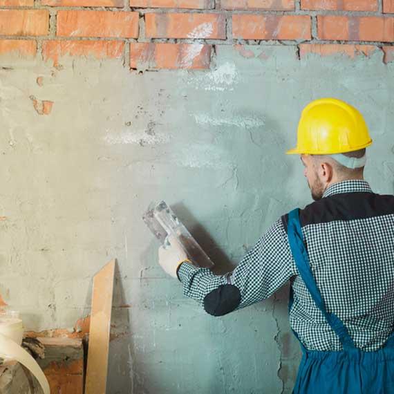 Umbauarbeiten und Sanierung